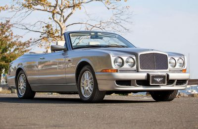 VOITURES DE LEGENDE (706) : BENTLEY  AZURE - 1995