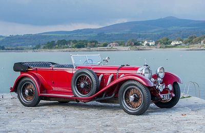 VOITURES DE LEGENDE (707) : MERCEDES BENZ  680 S  ERDMANN & ROSSI TOURER - 1928