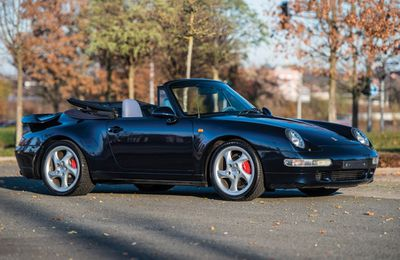 VOITURES DE LEGENDE (715) : PORSCHE 911 TURBO CABRIOLET - 1995