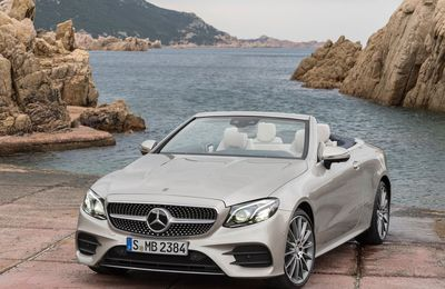 VOITURES DE LEGENDE (720) : MERCEDES-BENZ  CLASS E  CABRIOLET - 2018