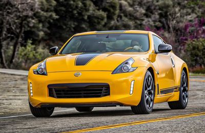 "VOITURES DE LEGENDE (731) : NISSAN 370Z  ""HERITAGE EDITION"" COUPE - 2018"