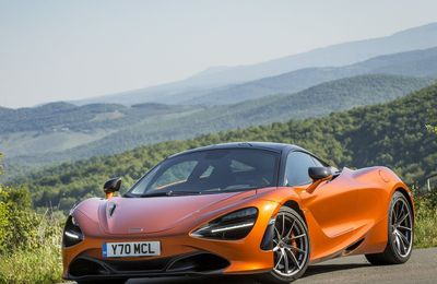 VOITURES DE LEGENDE (736) : McLAREN  720S - 2018