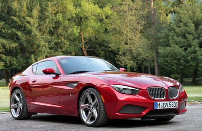 VOITURES DE LEGENDE (744) : BMW COUPE ZAGATO - 2012
