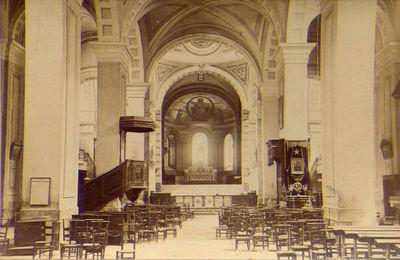 La cathédrale de Moûtiers avant 1904