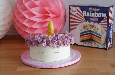 Gâteau licorne 🦄 vite fait !
