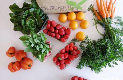 Fruits et légumes frais, le panier Potager City ! {concours}