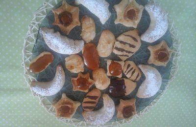 Gâteaux ,caramèl et amande
