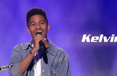 Kelvin- Diamonds - the voice kids france