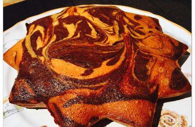 Gâteau Hermann marbré