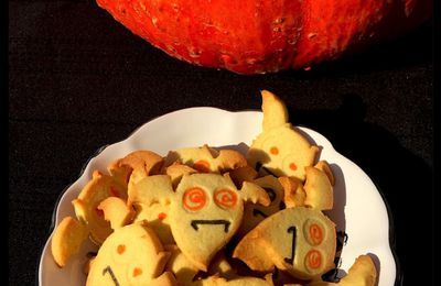 Biscuits d'Halloween