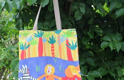 Tote bag animaux