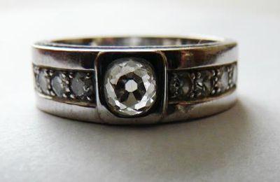 Un diamant en taille ancienne