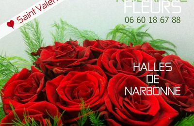 Saint Valentin chez votre fleuriste Rolande