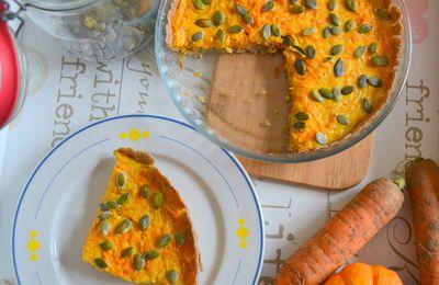 Tarte aux carottes (sans gluten)