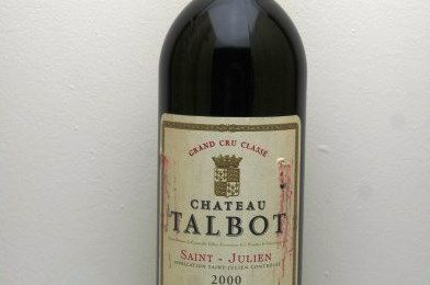 « Château Talbot 2000 »