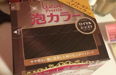 Kao Liese Classic Chocolat Bubble Hair Colour
