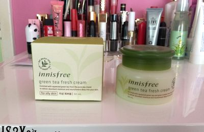 Innisfree Green Tea Fresh Cream