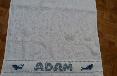 Serviette poue Adam