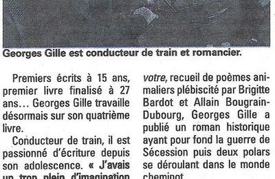 "ARTICLE DE ROMAIN SEVILLANO PARU DANS LE JOURNAL ""LA MARNE"" DU 22 AVRIL"