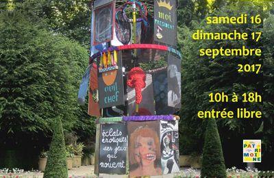 l'Art à l'air 2017, organisé par le Collectif E2A (Jardin des Plantes à La Rochelle)
