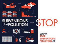 Signez la pétition : Stop aux subventions à la pollution !