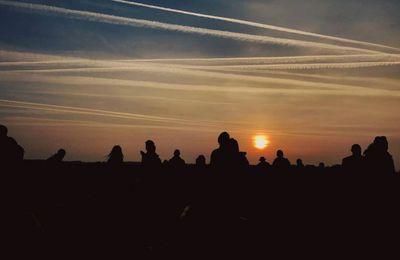 Solstice quadrillé à Stonehenge