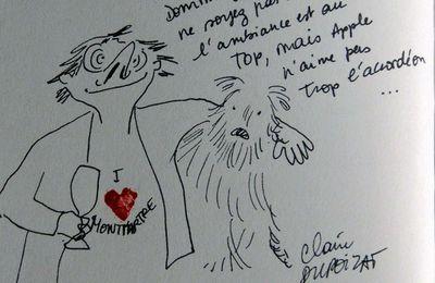 Claire Dupoizat love Montmartre