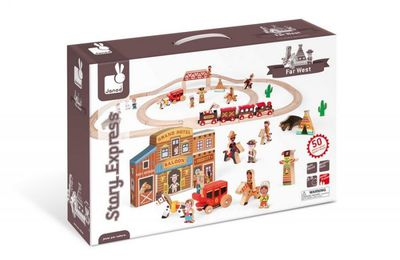 Concours : gagnez 10 circuits Janod Story Express Far West
