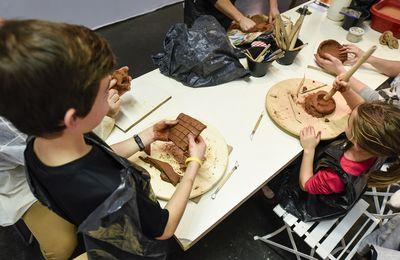Initier les enfants aux métiers d'art au Salon Ob Art