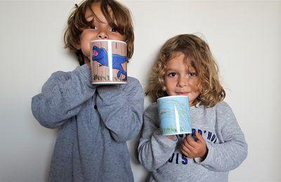 Mes enfants ont dessiné et créé leurs propres mugs !