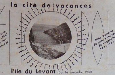 NATURISME n°402 du 1er août 1937 les publicités 3