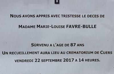 RIP Marie Lou