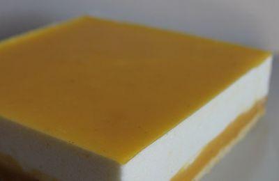 Entremets léger citron fromage blanc #91