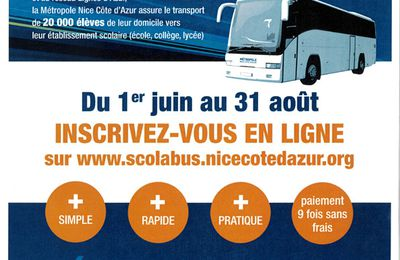 Inscriptions SCOLABUS