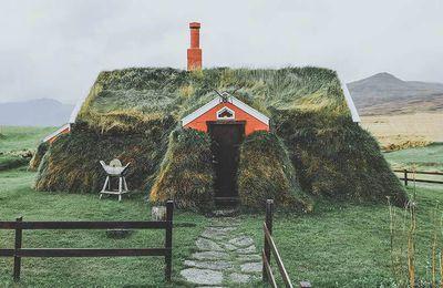 Maisons de gazon islandaises