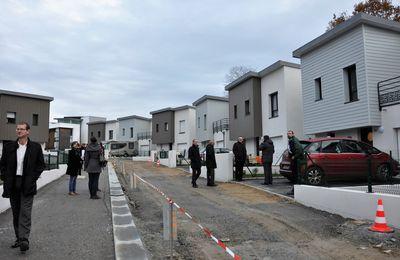 Inauguration des 15 maisons location-accession, rue du Périgord