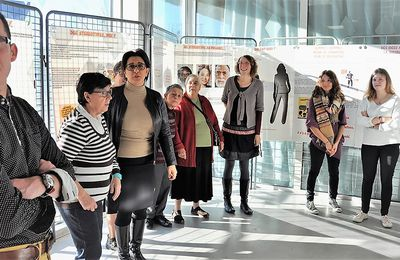Inauguration de l'exposition « Sur le chemin de la citoyenneté » à la MSP de Penhars (communiqué)