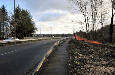 Le point sur le chantier du boulevard de Poulguinan