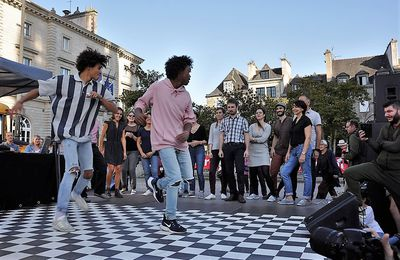 Battle hip hop / swing pour inaugurer le mois du Cultures Hip Hop Festival