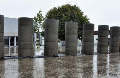 Une belle poussée de colonnes aujourd'hui sur le parvis de la MPT de Penhars