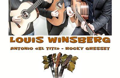 """Aprèm ' Jazz : Louis Winsberg Trio """" Gypsy eyes """" au Terrain Blanc le 3 décembre"""