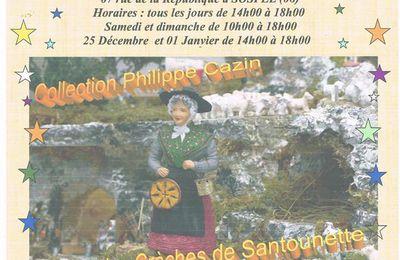 La crèche de Philippe d'Eze du Noël 2015