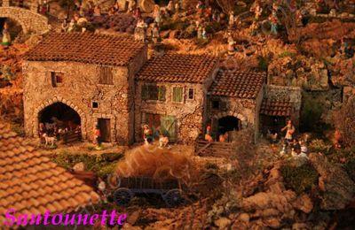 Les santons et les anciens métiers (créations  de Phillipe de Corse)