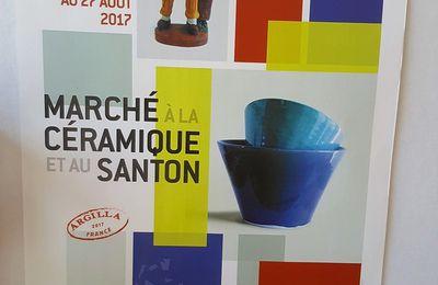 Le marché aux santons d'Aubagne 2017.