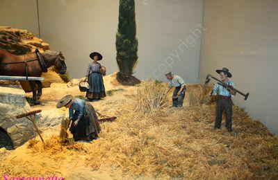 Les santons de Guiomar Liliane (la récolte des foins)