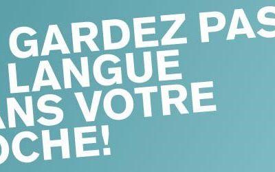 HALTE A L' ASSASSINAT PROGRAMME DE LA LANGUE FRANCAISE !