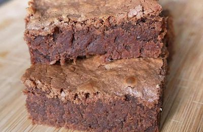 Brownies au lait concentré
