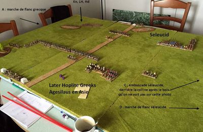 DBM400 - Later Hoplite Greek contre Seleucid