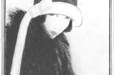 Belles en chapeau, hiver 1922