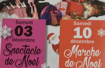 J-4 avant le marché de Noël de Carrières sur seine
